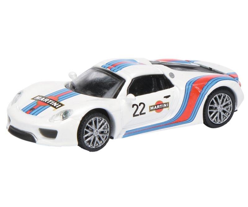 Porsche 918 Spyder Martini 1:87 / Spur H0