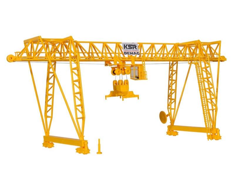 DEMAG Containerkran, Bausatz, Spur H0