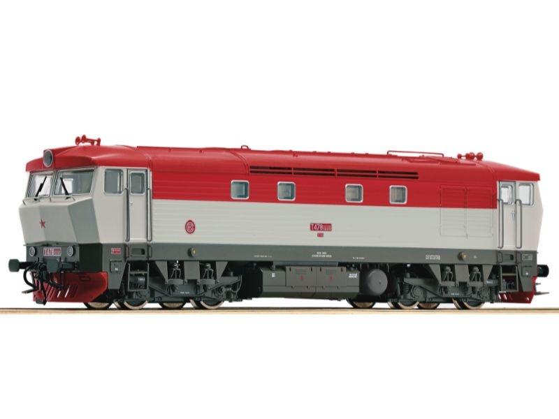 Sound-Diesellok Rh T478.2 der CSD, Epoche IV, Spur H0