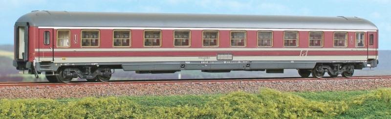 Personenwagen Typ UIC-X, 1.Kl. der FS, beige, DC, Spur H0