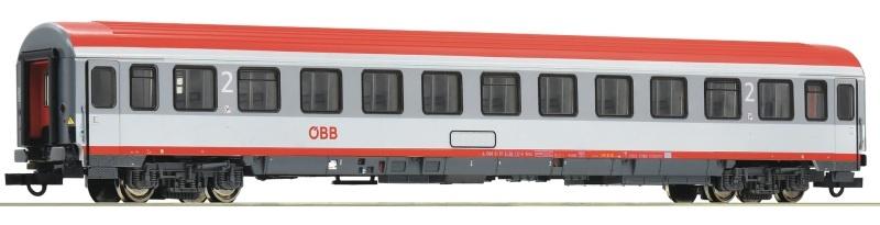Eurofimawagen 2. Klasse der ÖBB, , DC, Spur H0