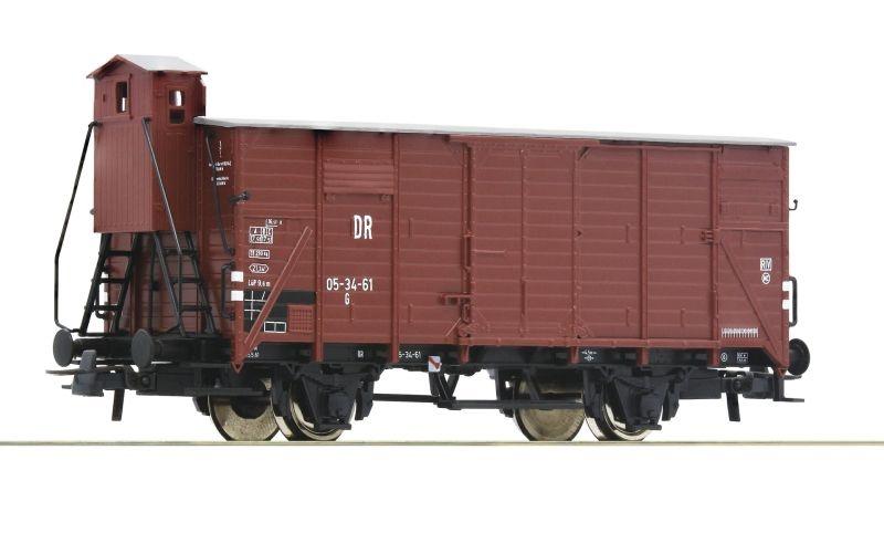 Gedeckter Güterwagen G10 der DR, DC, Spur H0