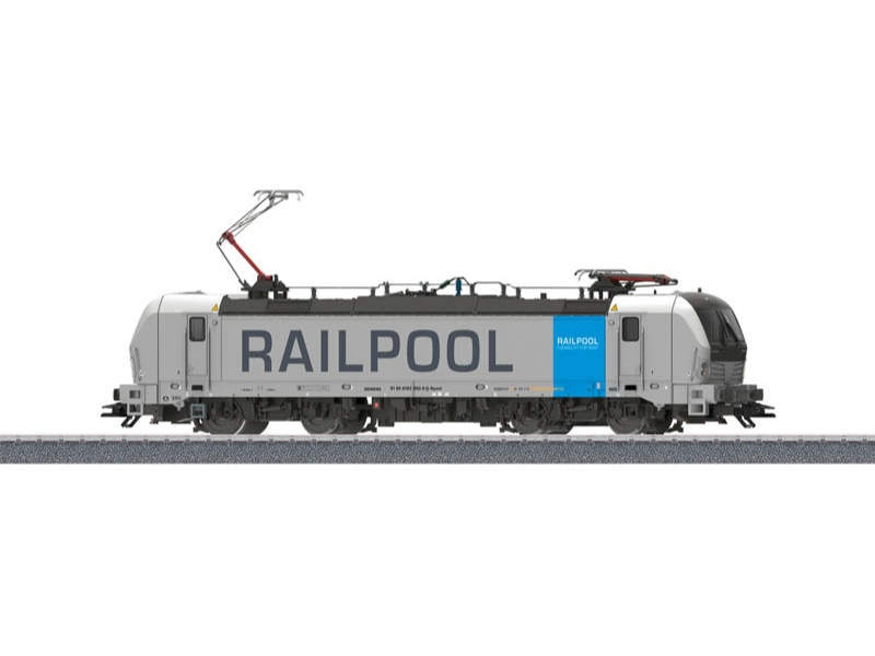 Start up - Elektrolokomotive BR 193 Railpool Sound mfx H0
