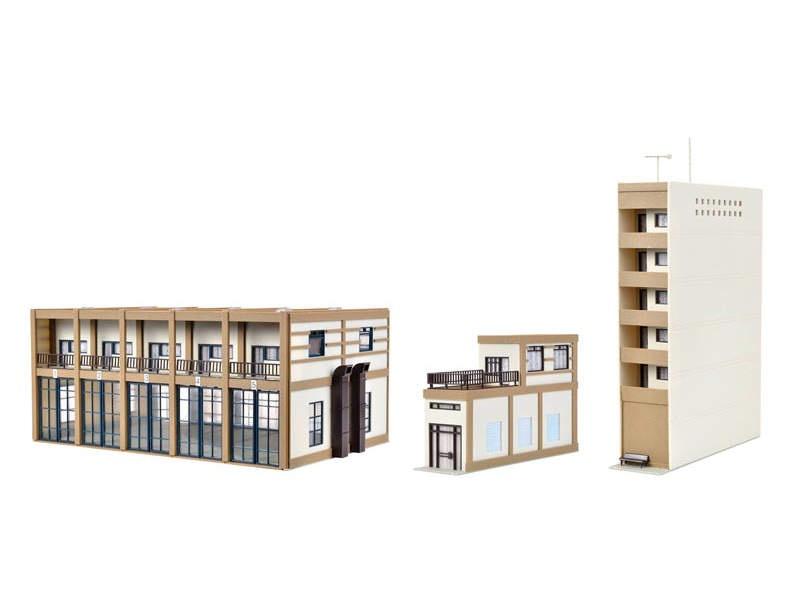 Städtischer Feuerwehrstützpunkt,fünfständig,Bausatz, Spur H0