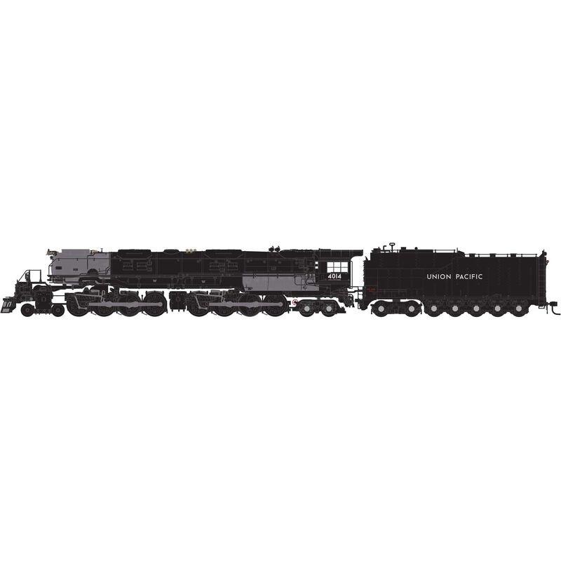 Dampflok 4-8-8-4 Union Pacific Big Boy #4014, Spur N