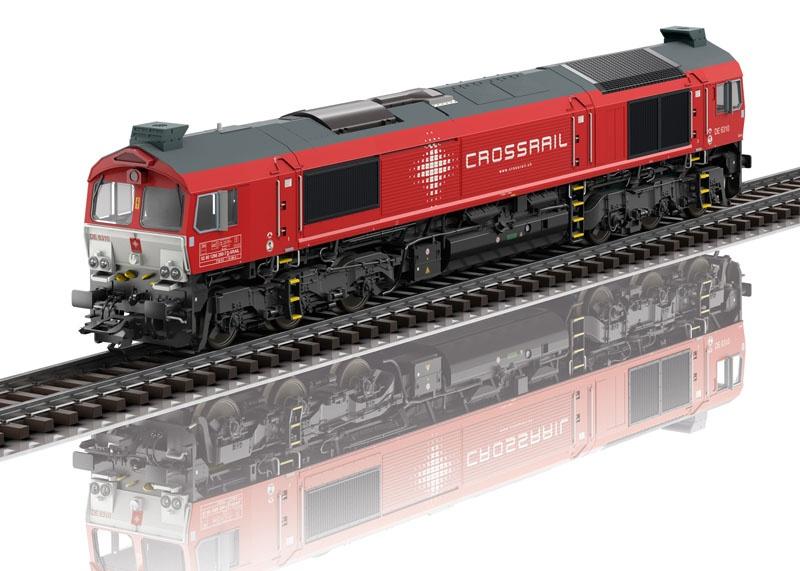Diesellok Class 77 Crossrail, Sound, mfx, DCC, DC, Spur H0
