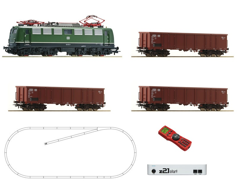 z21 start Digitalset: E-Lok BR 140 mit Güterzug, DB, DC, H0