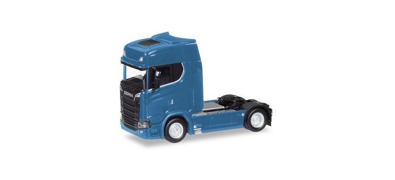 Scania CS V8 HD Zugmaschine, enzianblau, 1:87 / H0
