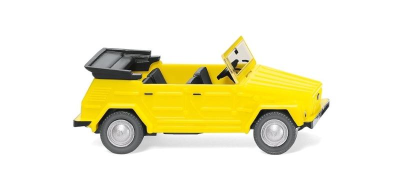 VW 181 - rapsgelb, 1:87, Spur H0