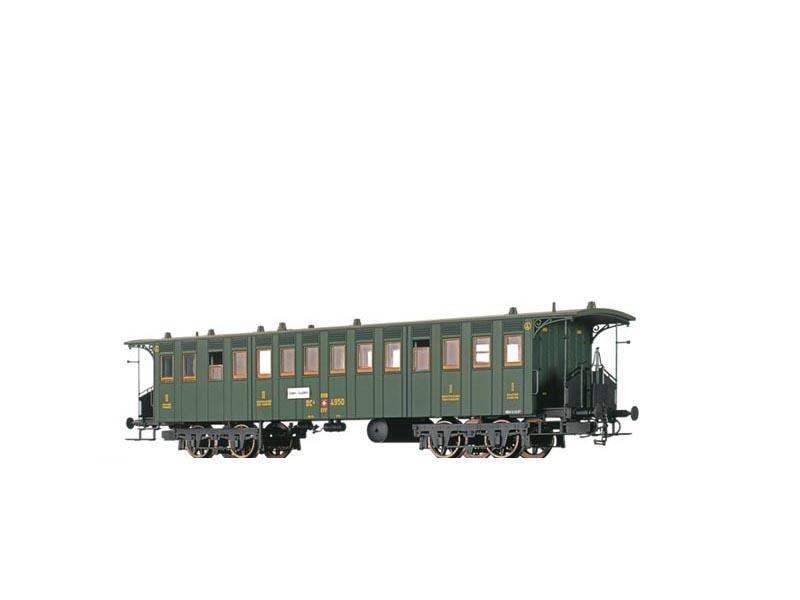Personenwagen BC4 der SBB, II, DC, Spur N