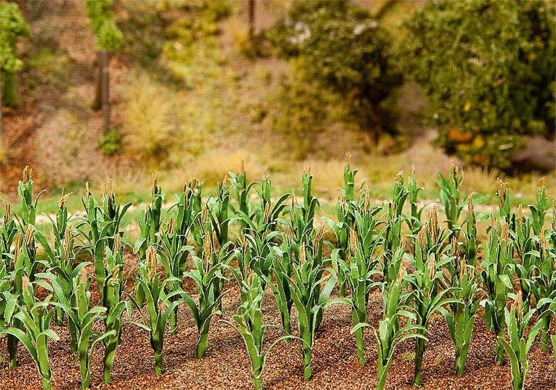 36 Maispflanzen H0, TT, N