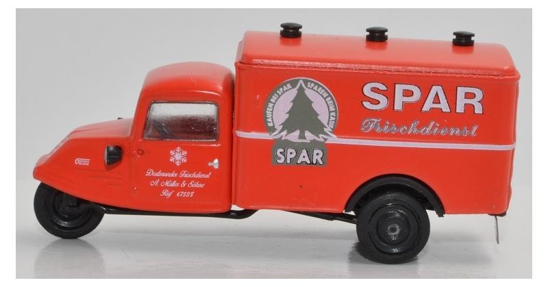 Goliath GD 750 Marktstandwagen SPAR Frischdienst Dortmund H0