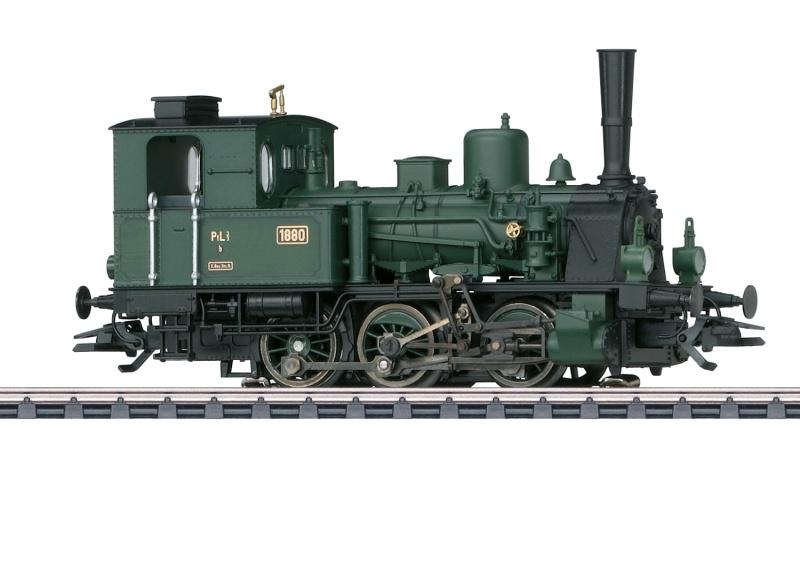 Dampflokomotive PtL 3/3, AC, H0, Eurotrain Sondermodell