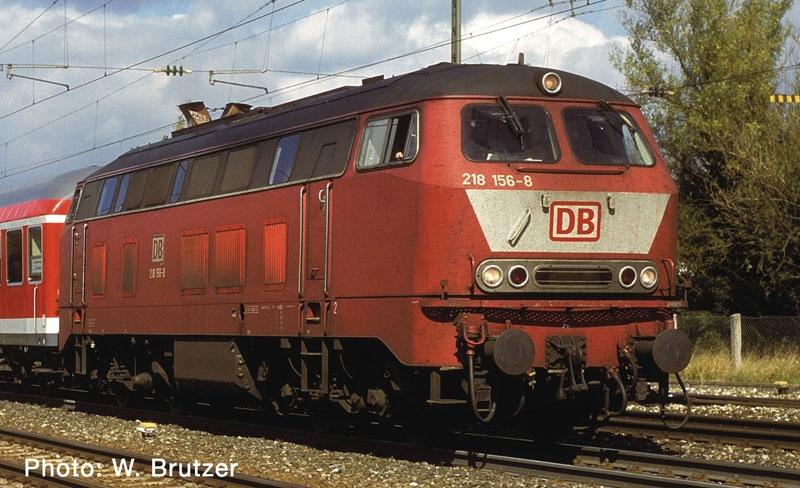 Diesellokomotive BR 218 der DB AG, Spur N