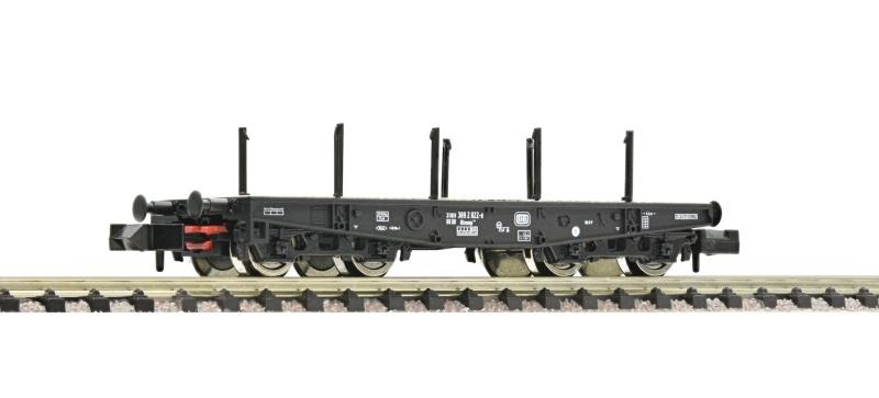 Schwerlast-Flachwagen Rlmmps 651 der DB, DC, Spur N