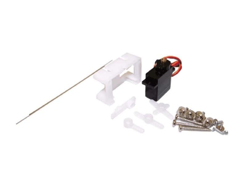 Servoantrieb mit Präzisions-Miniaturservo, Metallgetriebe