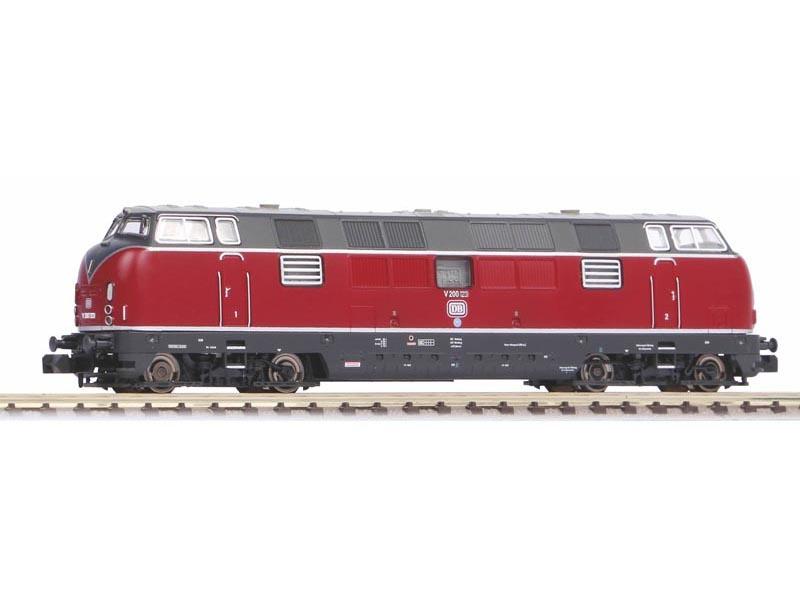 Sound-Diesellokomotive V 200.1 der DB, Ep. III, DC, Spur N