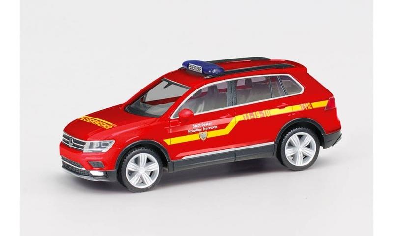 VW Tiguan Kommandowagen Feuerwehr Goslar, 1:87 / H0