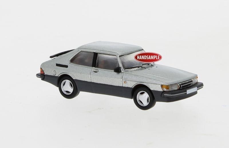 Saab 900 Turbo silber, 1986, 1:87 / Spur H0