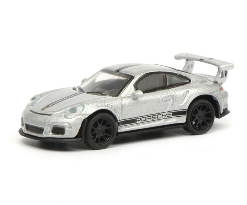 Porsche 911 GT3 RS, silber, 1:87 / Spur H0