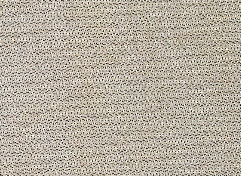 Mauerplatte, Gehweg 250 x 125 x 0,5 mm H0