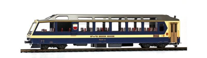 Superpanoramic Express Steuerwagen Ast 116, MOB, H0m