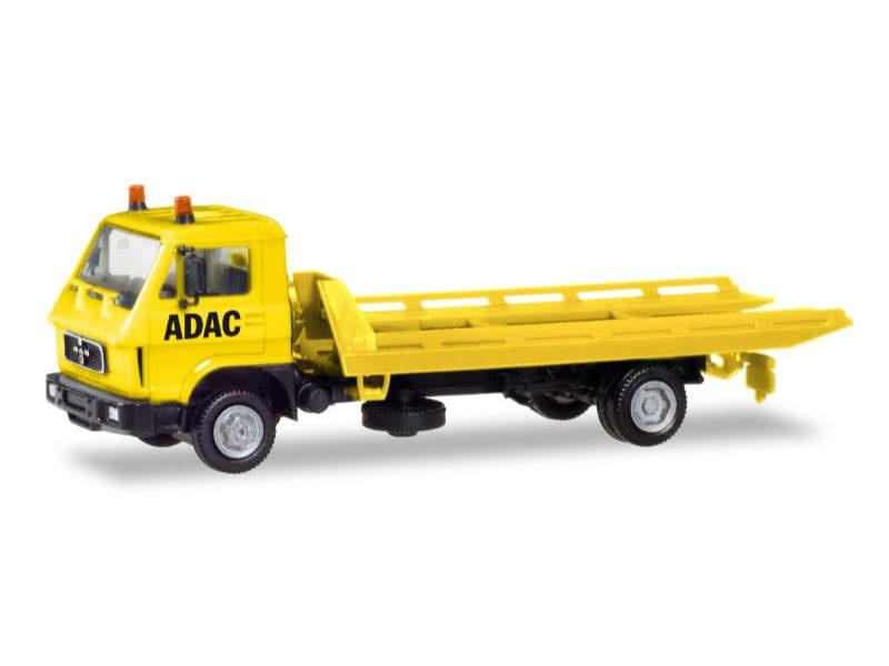 MAN G 90 Plateau-Abschleppfahrzeug ADAC 1:87 / H0