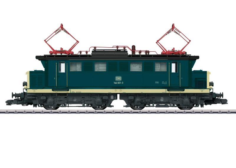 Elektrolokomotive BR 144 der DB, mfx, DCC, Sound, Spur 1