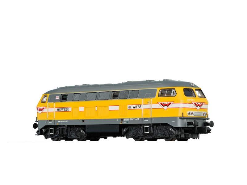 Diesellok BR216 der H.F. Wiebe, V, Spur N