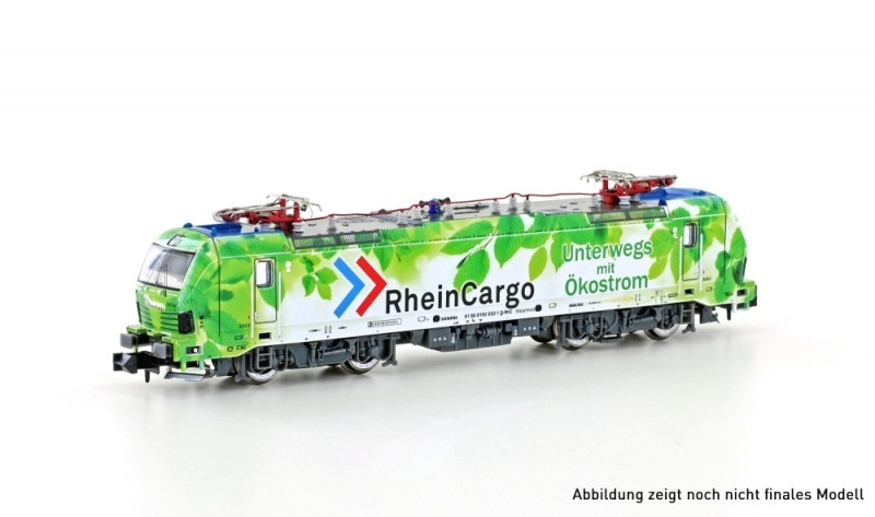 E-Lok BR 192 Smartron RheinCargo, Ep.VI, Spur N