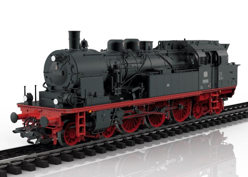 Dampflokomotive BR 78 der DB, mfx, DCC, AC, Spur H0