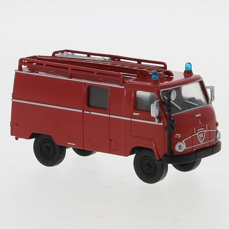Faun F 24 LF 8, rot/schwarz, 1960, 1:87 / H0