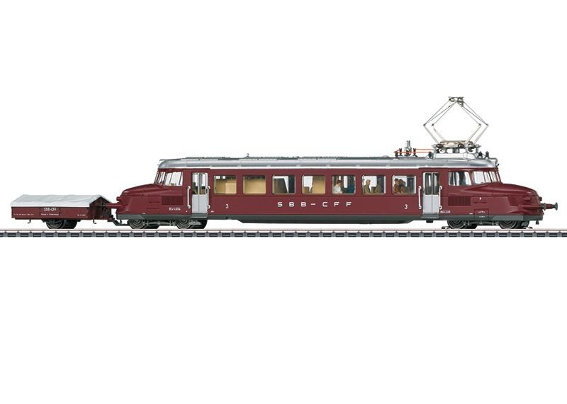 Sound-Triebwagen Serie RCe 2/4 Roter Pfeil der SBB,Spur H0