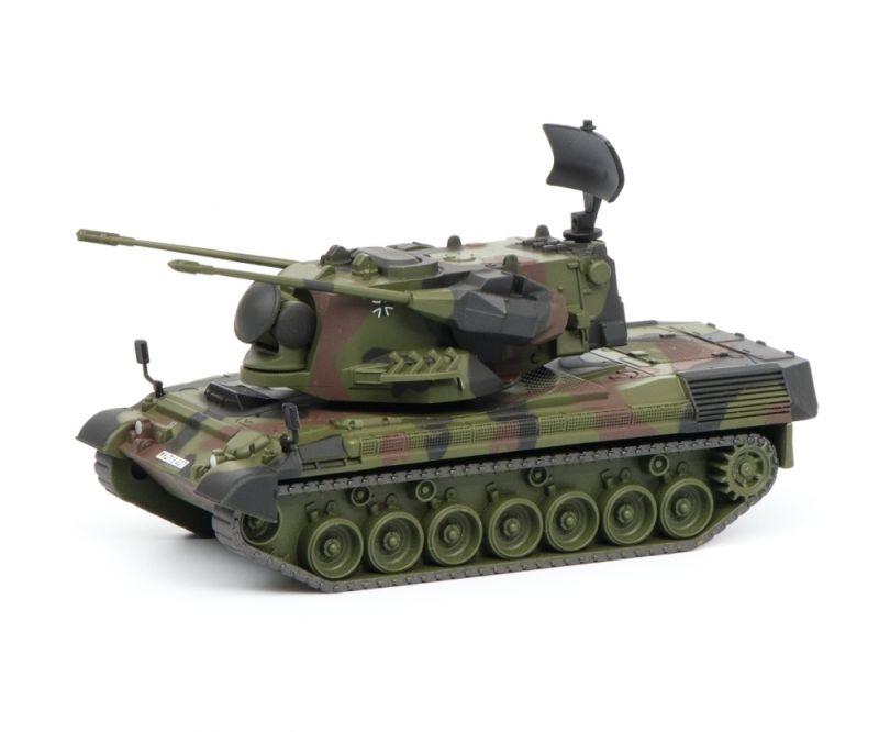 Gepard Flakpanzer Bundeswehr, flecktarn, 1:87 / Spur H0