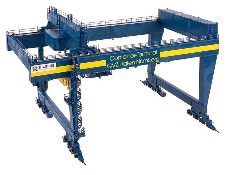 Containerbrücke GVZ Hafen Nürnberg Bausatz, Spur H0