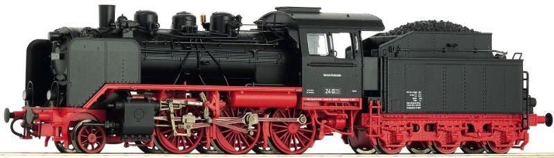 Dampflok BR 24 der DB, Epoche III, Spur H0