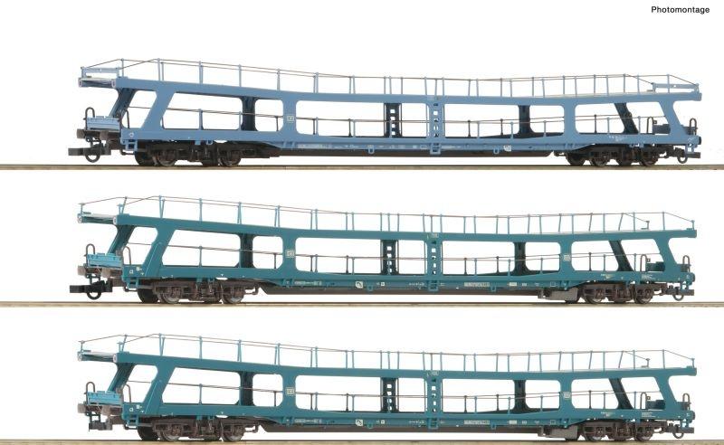 3er Set 3: Autoreisezug Christoforus-Express DB, DC, H0