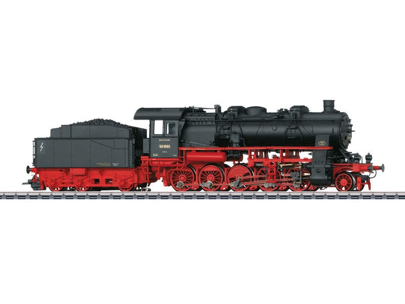 Güterzug-Dampflokomotive Baureihe 58.10-21 DRG Sound mfx+ H0