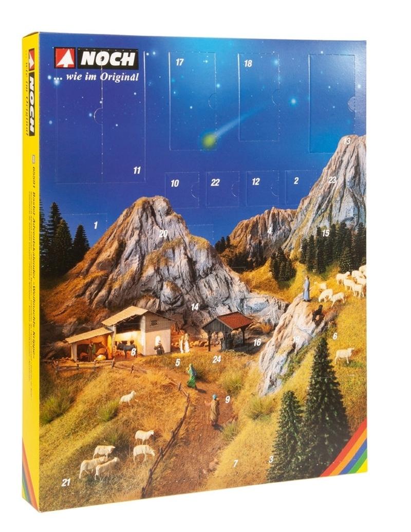 Bastel-Adventskalender Weihnachts-Krippe, Spur H0