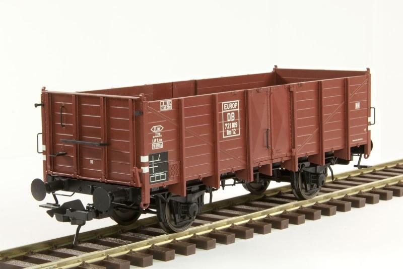 Güterwagen Om 12 der DB, Ep. III, Spur 0