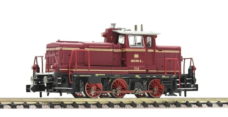 Diesellok BR 260, rot, Spur N