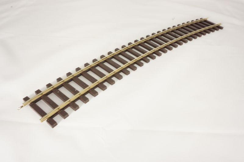 Gleis gebogen R2 22,5°, Spur 0