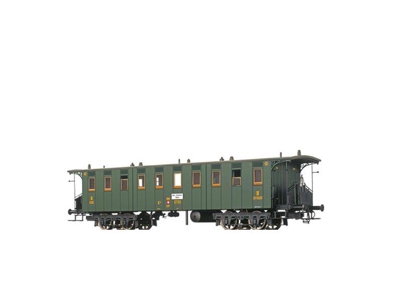 Personenwagen C4 der SBB, II, DC, Spur N