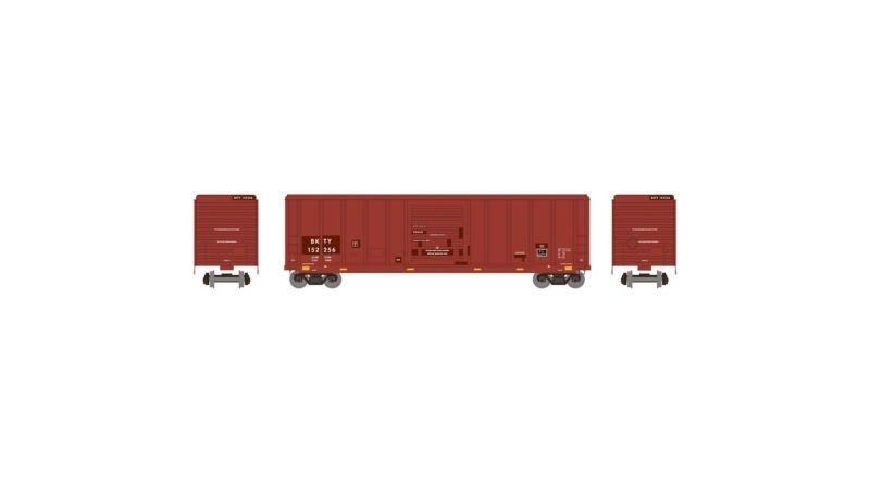 Gedeckter Güterwagen 5344 50 BKTY, DC, Spur H0