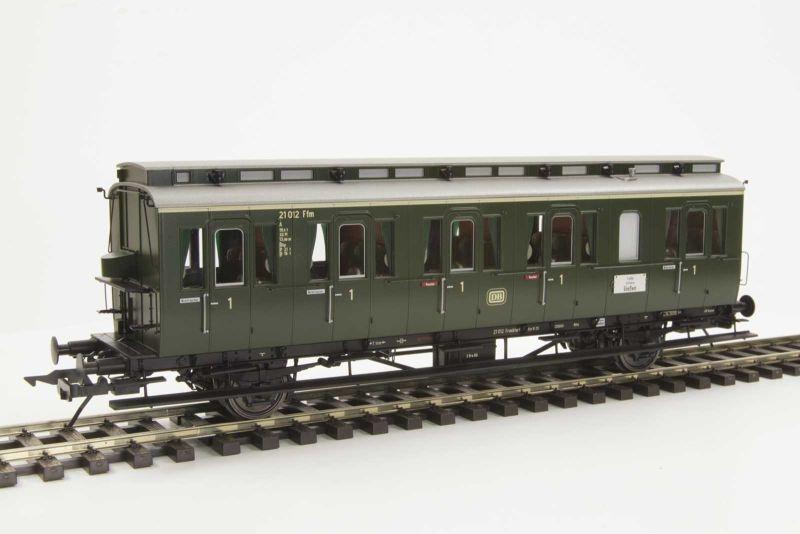 Preußischer Abteilwagen Bauart B3 der DB, 2-achsig, Spur 0