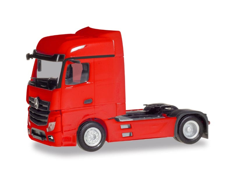 Mercedes-Benz Actros Bigspace, rot, 1:87 / H0