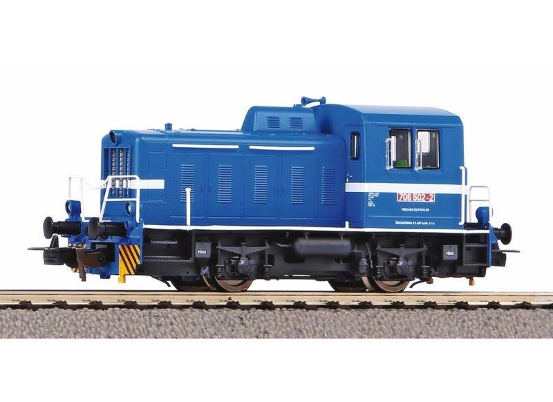 Diesellok TGK2 - T203 Privatbahn, DC, Spur H0