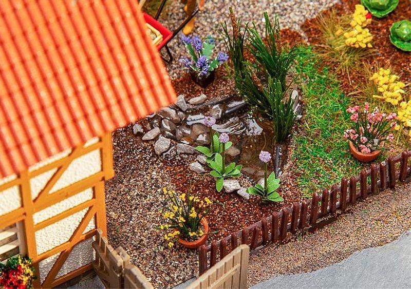7 Gartenteiche, Bausatz, Spur H0