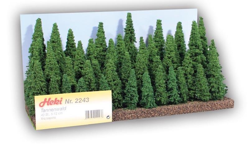 Tannenwald, 40 Tannen 5-12 cm
