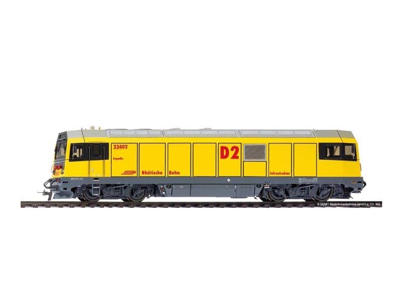 Gmf 234 02 D2 Engadin Diesellok der RhB, Spur H0m